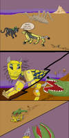 Dragons Den Comic, Overactive Imagination, pg1
