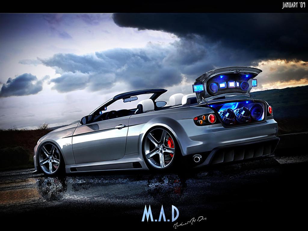 bmw 335i cabrio by maddinc on deviantart. Black Bedroom Furniture Sets. Home Design Ideas