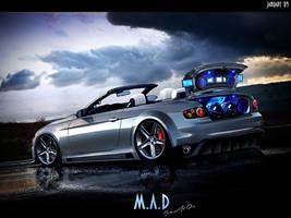 BMW 335i cabrio by maddinc