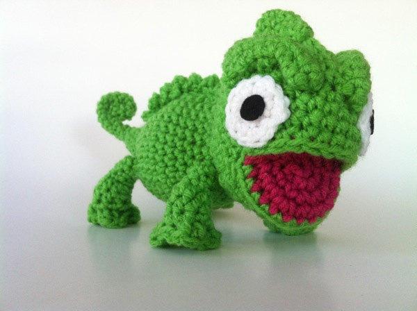 Crochet pattern Chameleon | Sabrina's Crochet | 448x600
