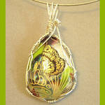 Silver Wrapped Butterfly