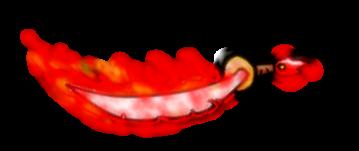 Flaming Scimitar of Hawtness