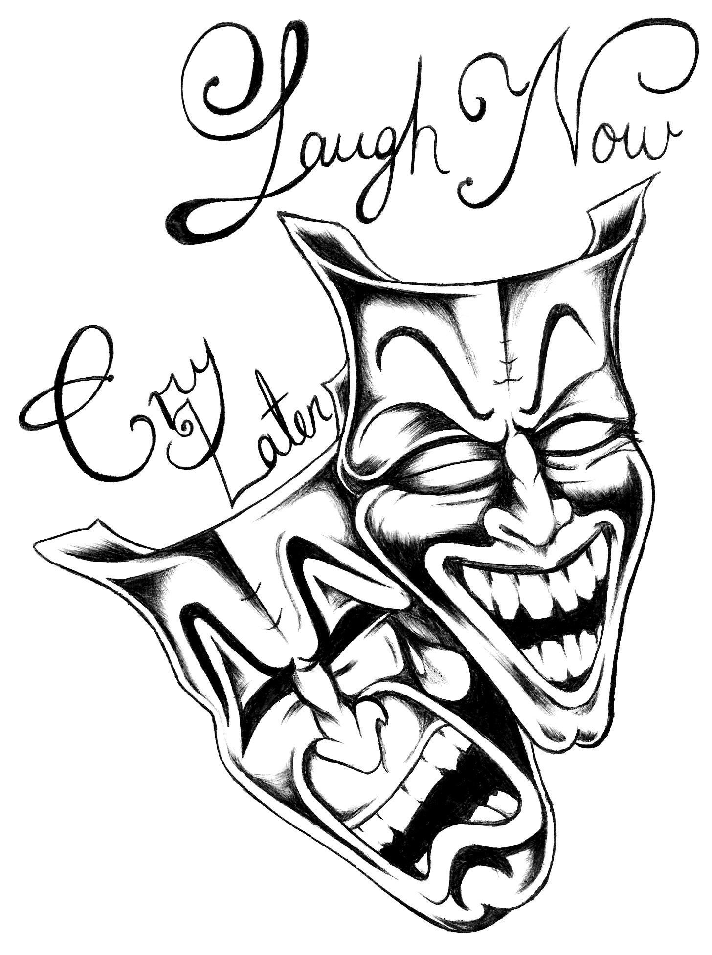 Cry now Laugh later by brokenTear on DeviantArt