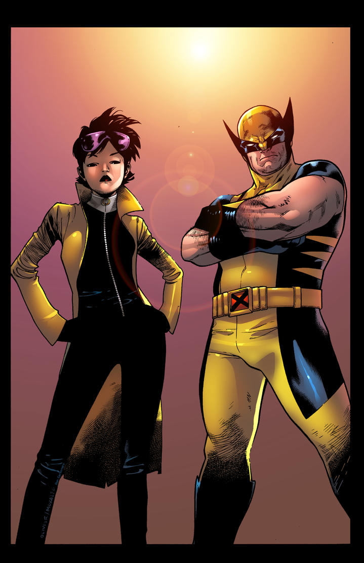 Wolverine Jubilee by Mark Morales  Color by CarboneroBen