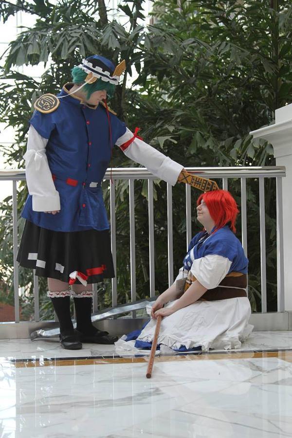 Shikieiki scolding Komachi by dezicoco