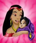 Jasmine and her Mother