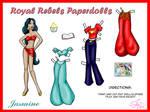RR Paperdolls: Jasmine