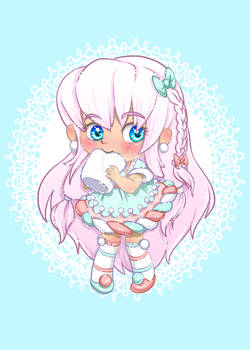 Marshmallow Girl