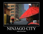 Ninjago City motivator