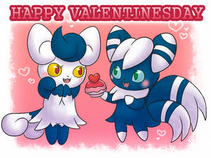 COLLAB: Happy Valentinesday Meowstics :3