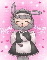 Vinesauce's Tomodachi Life Alpaca (Kazuma-kuuun!) by KiwiBeagle