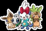 Team SilverShell  Happy birthday Hime-Nyan x3