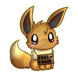 Eevee needs a free hug