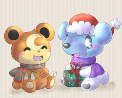 Present bears by KiwiBeagle