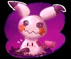 Shy Mimikyu  by KiwiBeagle