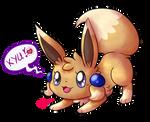 Playful little Eevee