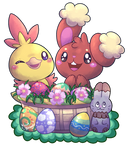 Oh look! An Easter basket! by Tanukky