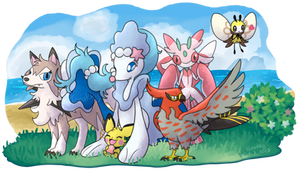 Alola Pokemon Team [Reupload]