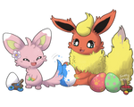 Let's color eggs [Reupload]