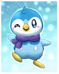 Piplup likes you!