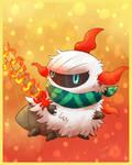 Larvesta character - Raffleprice