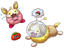 Charity Collab Project - Kirby and Yamper