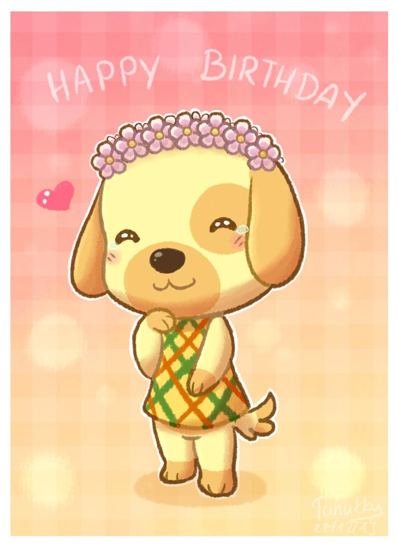 Happy birthday Goldie