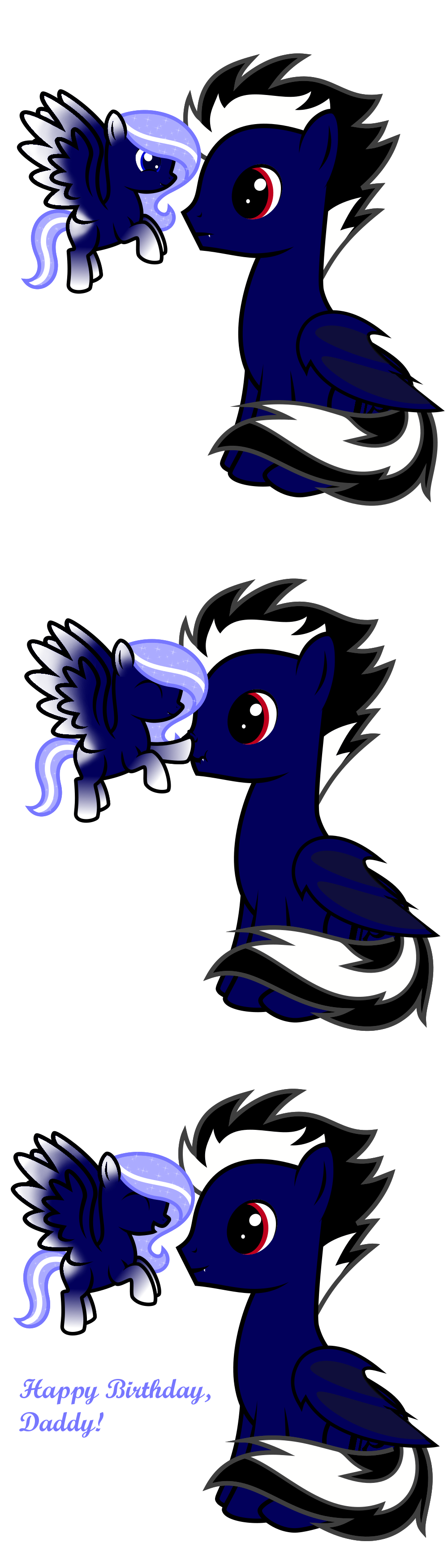Snowflake and Alto by StormDragon3