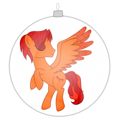 Golden Fox Ornament by StormDragon3