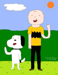 Snoopy and Charlie Brown (Peanuts)