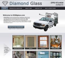 Diamond Glass Website Design