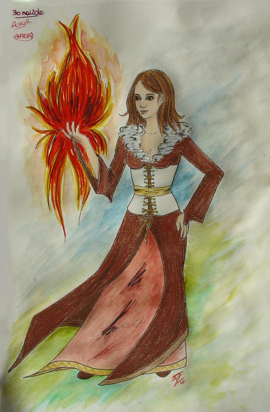 Gaea by Lady-Kiwi