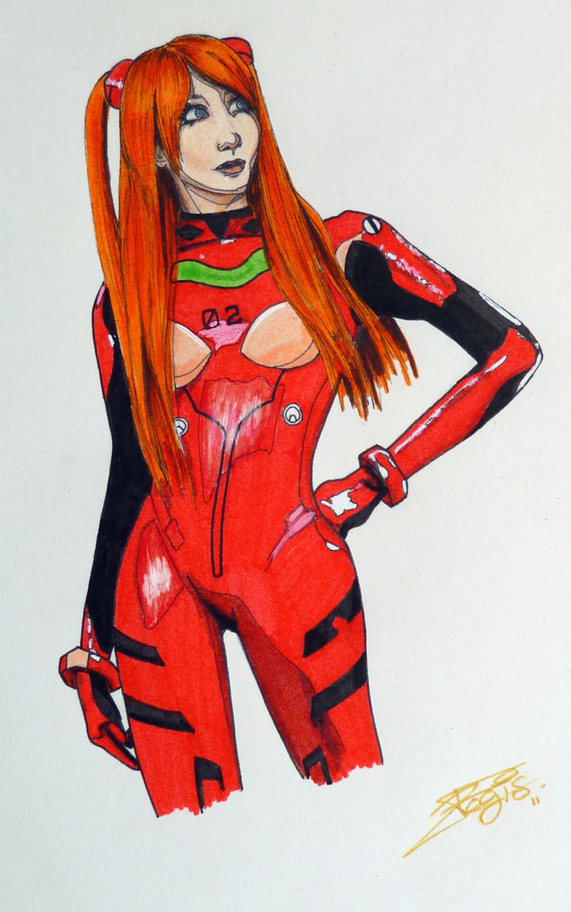 Asuka Langley by Lady-Kiwi
