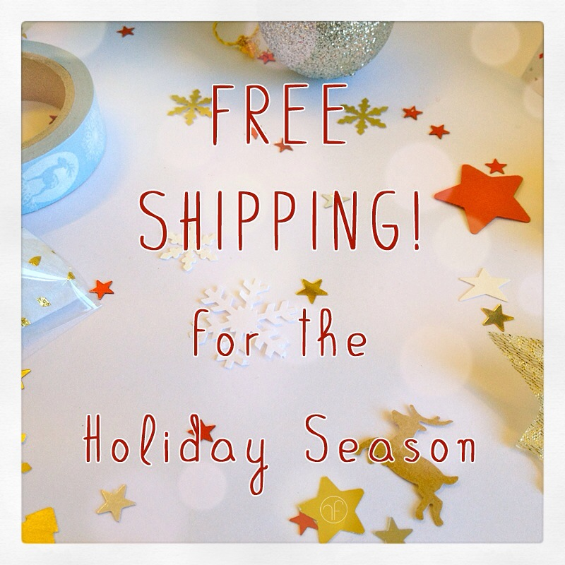 Holiday Season Free Shipping by Lady-Kiwi
