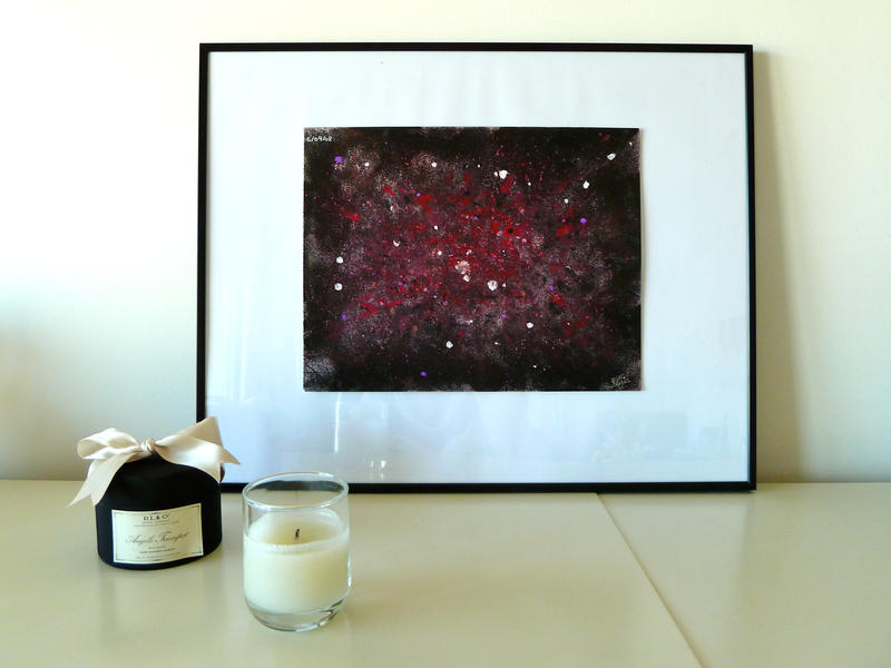Abstract Painting on canvas by Lady-Kiwi