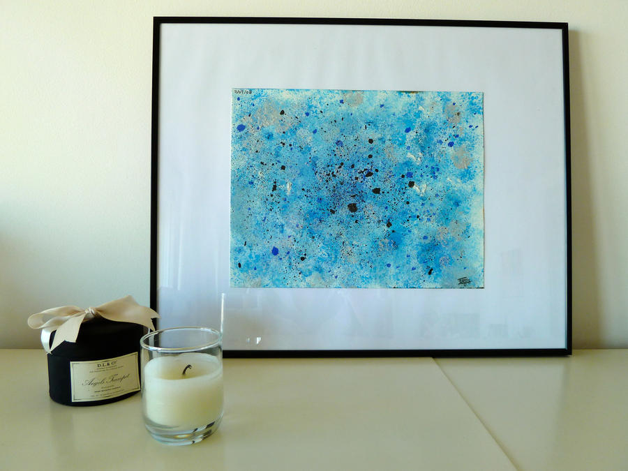 Abstract Blue by Lady-Kiwi