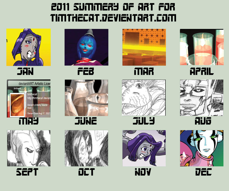 The year 2011 A good year by timthecat