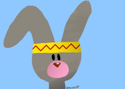 Its A Rabbit , Man!