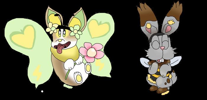 Spring Pokemon Charity Art