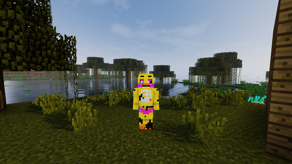 Withered Toy Chica Skin By Therubyminecart On DeviantArt - Skins para minecraft 1 8 chicas