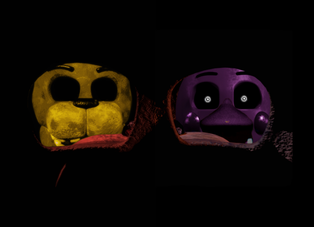 FNAF 15 Game Over Death Screen By Therubyminecart