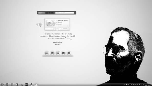Steve Jobs desktop