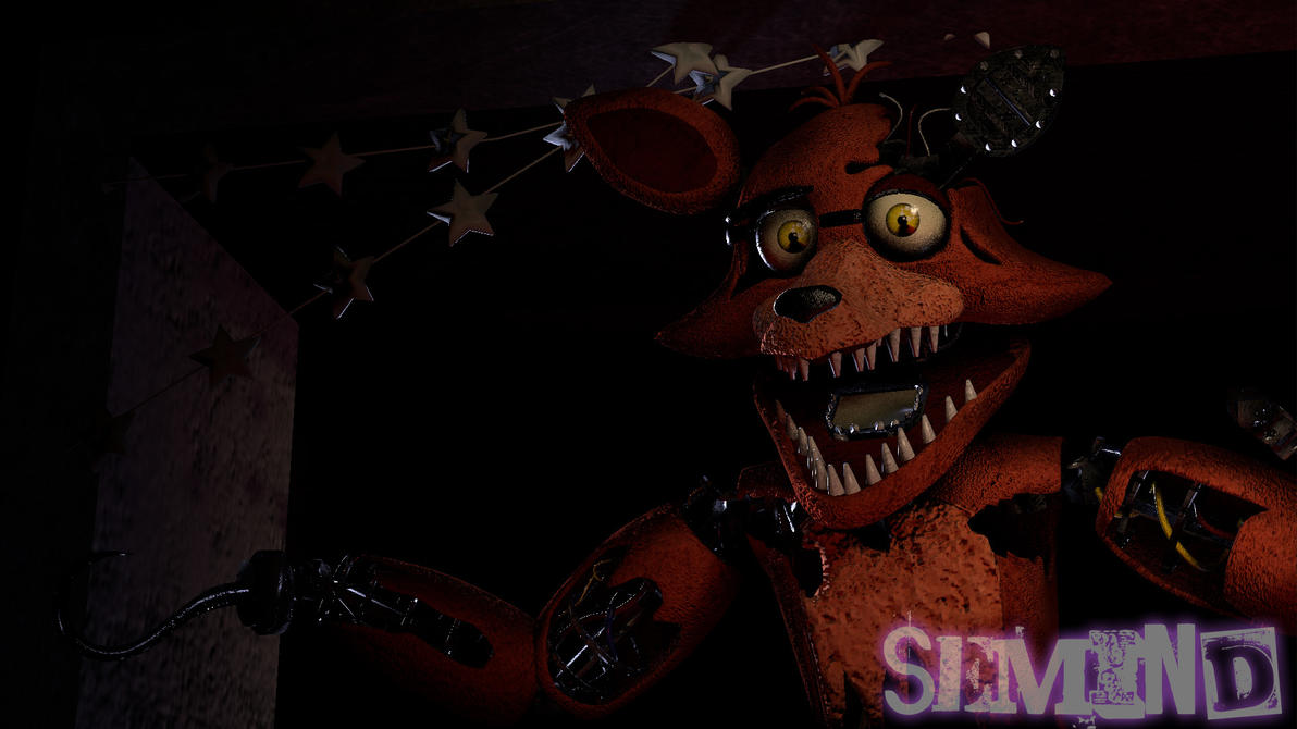 Withered Foxy By Sfm Postermaker Deviantart – Dibujos Para Colorear