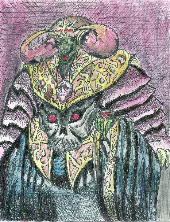 Dark Ruler Ha Des by totalchaos444 on DeviantArt
