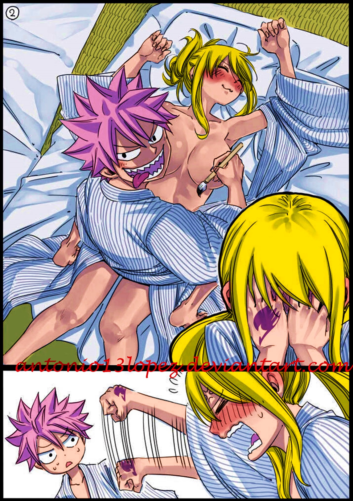 Fairy Tail Lucy Nsfw