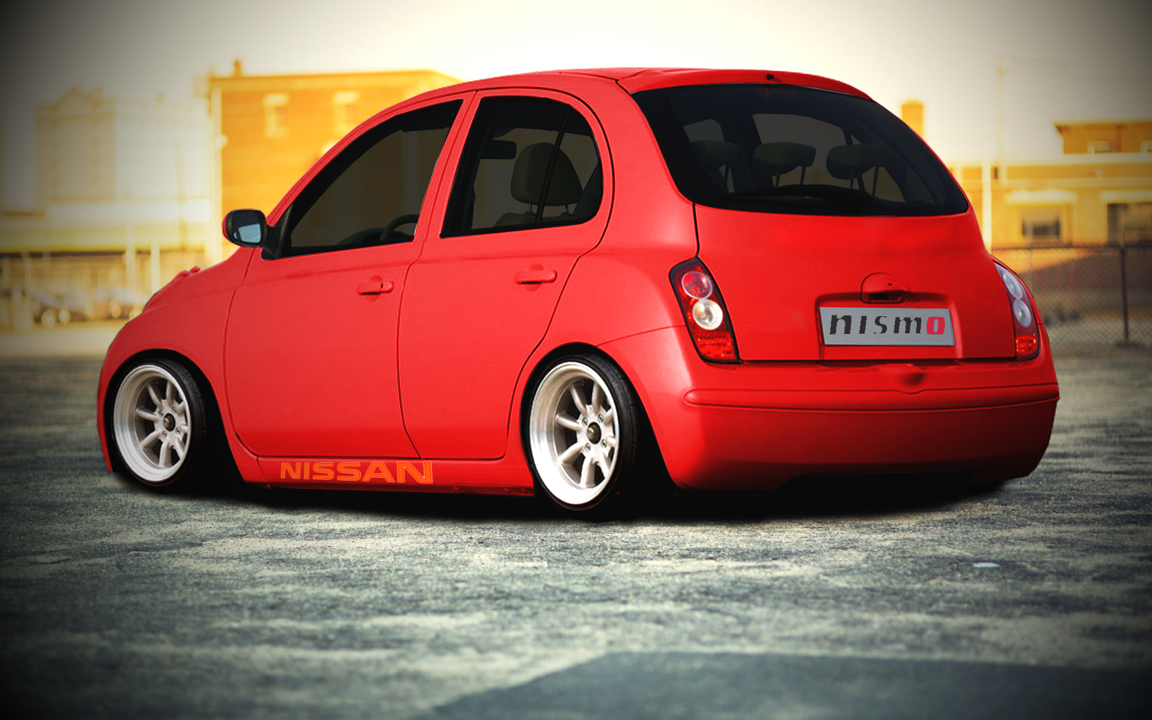nissan micra virtual tuning by morvic on deviantart. Black Bedroom Furniture Sets. Home Design Ideas