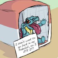 Pokemon shaming by Aureliette
