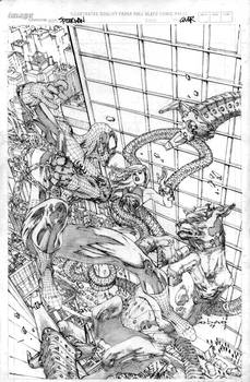 spiderman by ebas
