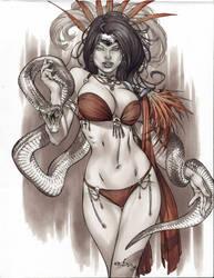 snake bite by ebas