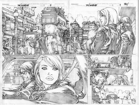 witchblade pg 8-9